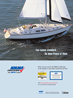 sailing certification ad